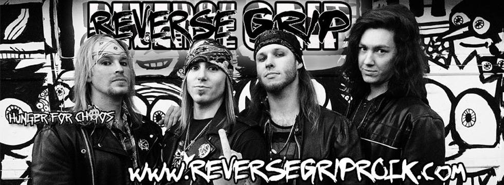 REVERSE GRIP signs with ROCK N GROWL