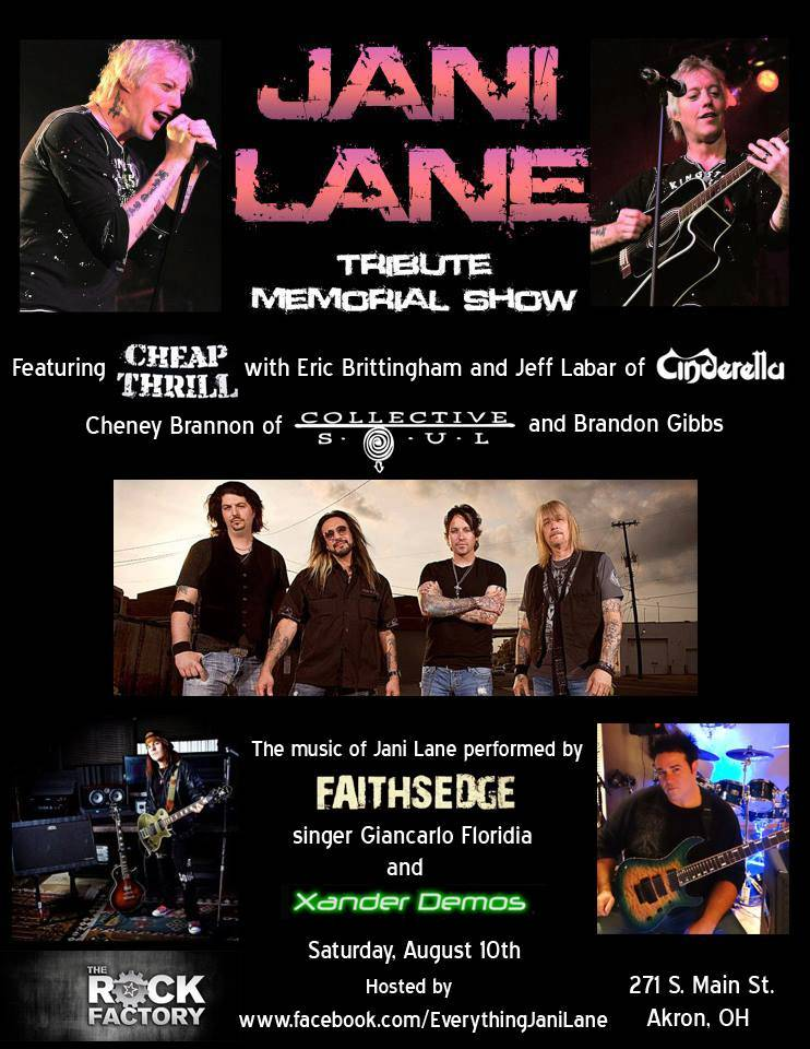 JANI LANE Memorial Show Update | ROCKNGROWL COM