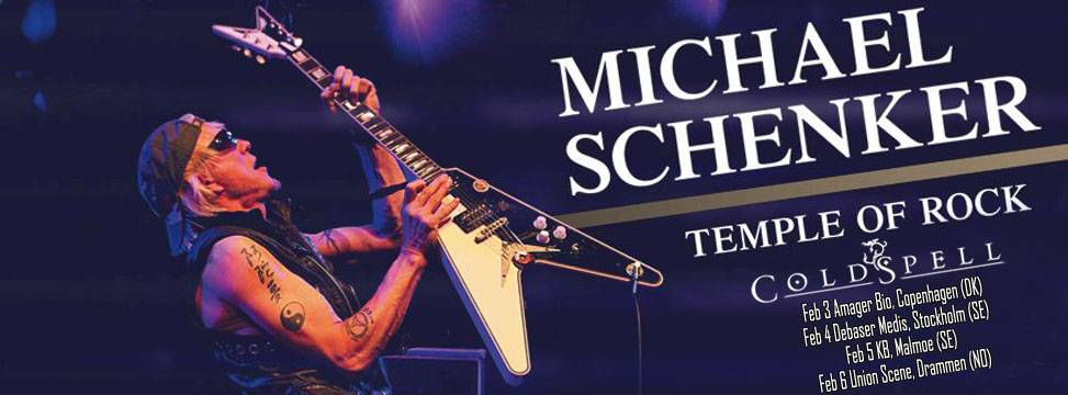 ColdSpell Support Michael Schenker 2016