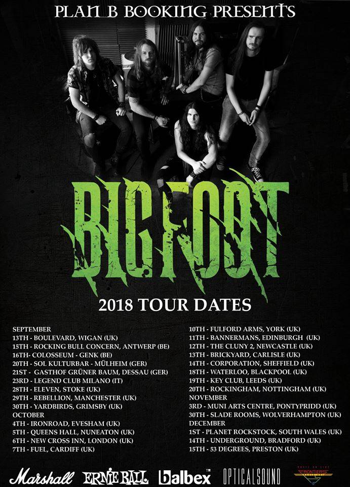 Bigfoot 2018 Tour