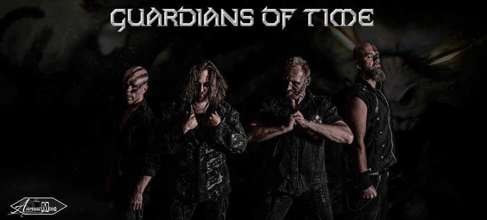 "GUARDIANS OF TIME Release ""Tearing Up The World"" Lyric Video Feat. ABBATH"