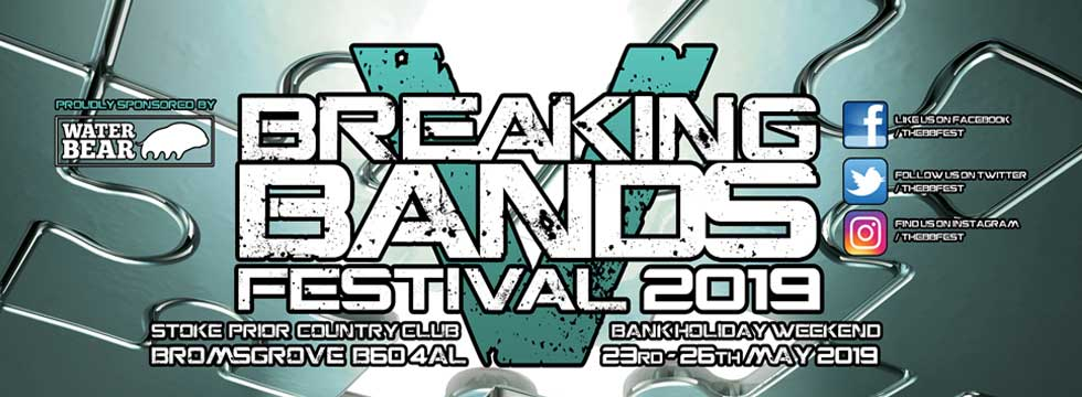 Breaking Bands Festival 5 Announce Last 16 Bands And Stage Names