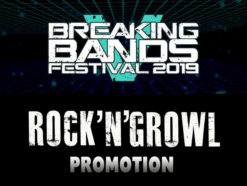 Breaking Bands Festival RockNGrowl Promotion