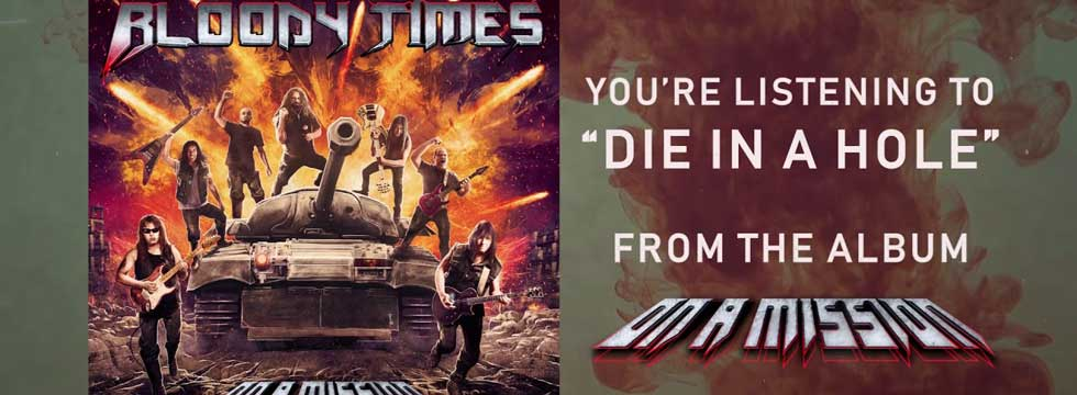 Bloody Times Post 'Die In A Hole' Lyric Video