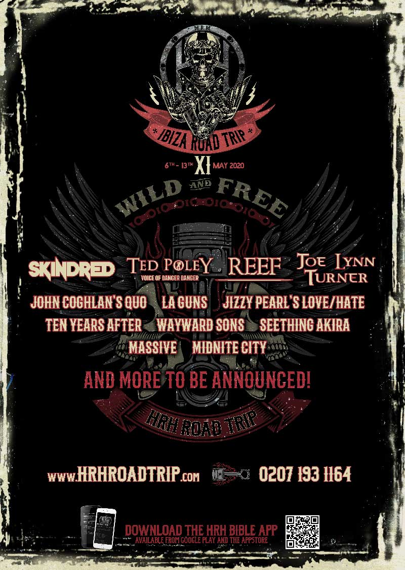 Rock Road Trip The Ultimate Collection: Hard Rock Hell Announce HRH Road Trip XI