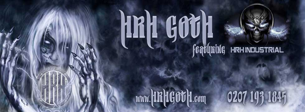HRH GOTH Fesvial Feat. HRH INDUSTRIAL Billing Announced: FIELDS OF NEPHILIM, MY DYING BRIDE, KMFDM, And More !