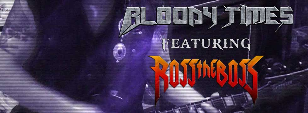 BLOODY TIMES Release 'Alliance' Lyric Video Feat. ROSS THE BOSS On Guitar