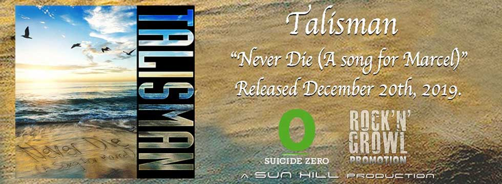 Talisman Release New Song 'Never Die' In Memory Of Marcel Jacob