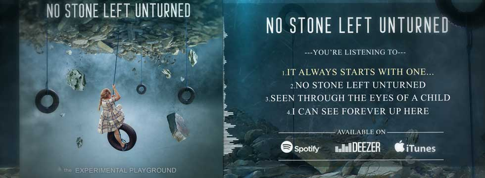 NO STONE LEFT UNTURNED – The Experimental Playground EP Streaming In Full