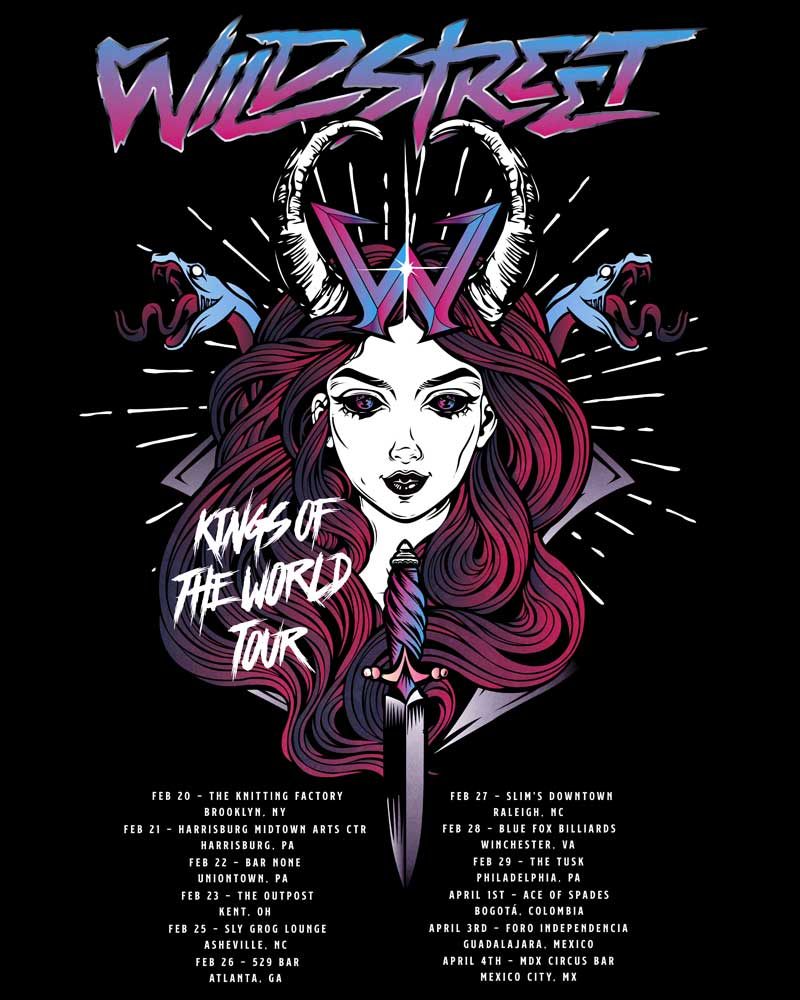 Wildstreet US Tour